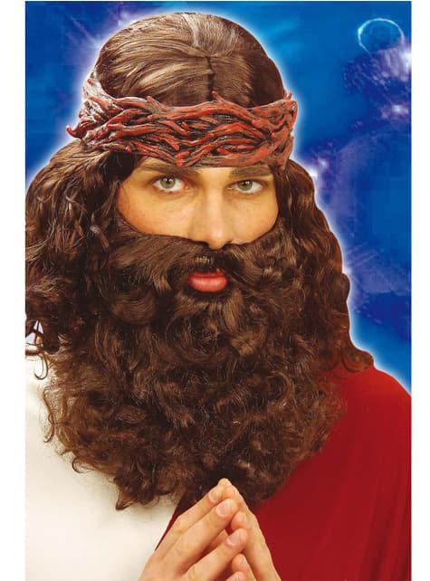 Perruque et barbe de prophète