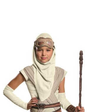 Máscara de Rey Star Wars Episódio VII para menina