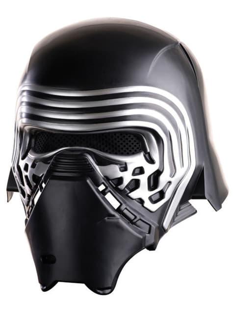 Complete helm van Kylo Ren Star Wars Episode 7 voor jongens