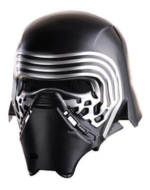 Kylo Ren komplet hjelm til drenge - Star Wars Episode VII