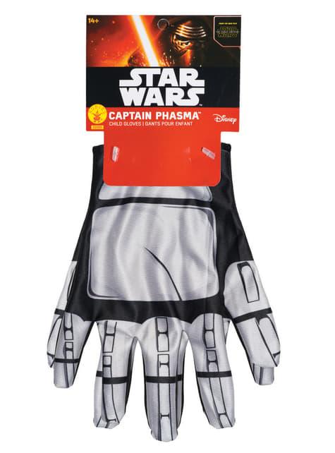 Girls Captain Phasma Star Wars The Force Awakens Gloves