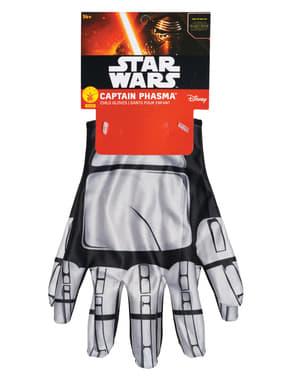 Капитанът на момичетата Phasma Междузвездни войни Силата събужда ръкавици