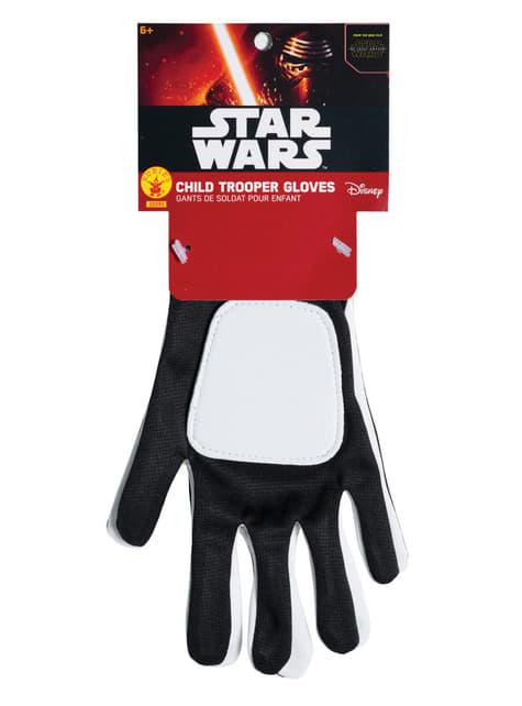 Luvas de Flametrooper Star Wars Episódio VII para menino