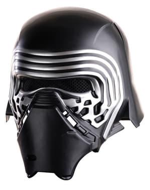 Complete helm van Kylo Ren Star Wars Episode 7 voor mannen