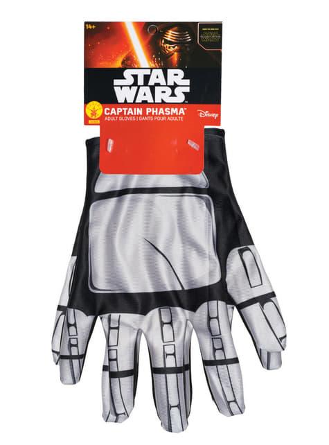 נשים קפטן Phasma Star Wars חיל כפפות מתעורר