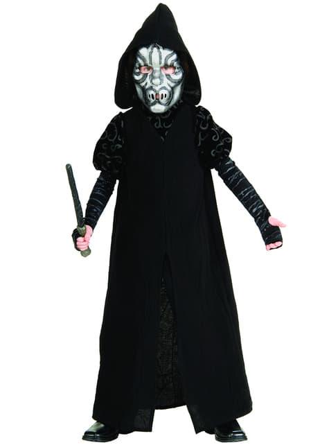 Deluxe Death Eater kostuum voor jongens