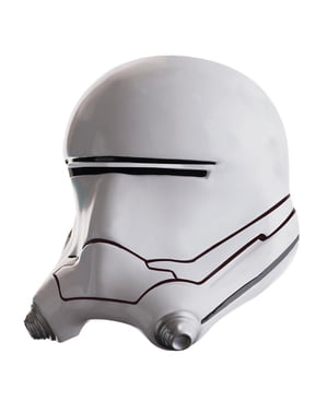Complete helm van Flametrooper Star Wars Episode 7 voor mannen