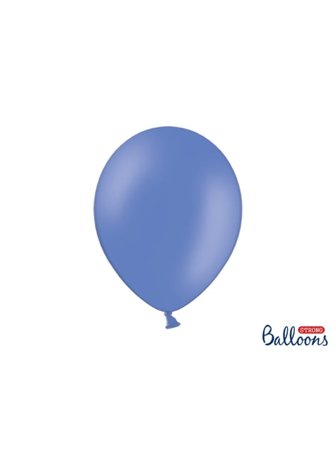 100 globos extra resistentes azul marengo (30 cm)