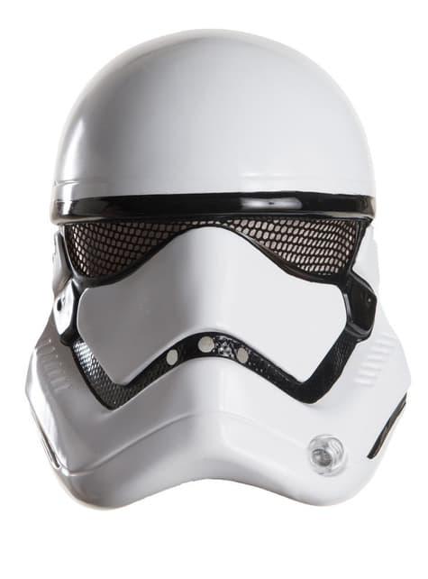 Máscara de Stormtrooper Star Wars Episódio VII para homem