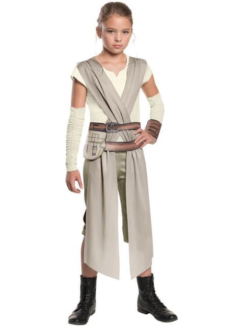 Kostium Rey Star Wars: Przebudzenie Mocy dla dziewczynki