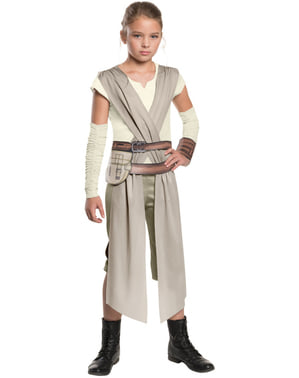 Star Wars: The Force Awakens Rey Classic Maskeraddräkt Barn