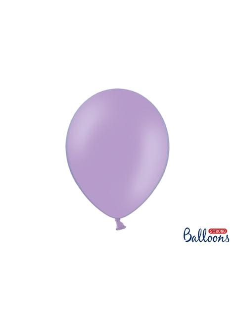 10 extra silných balonků (30 cm) levandulových