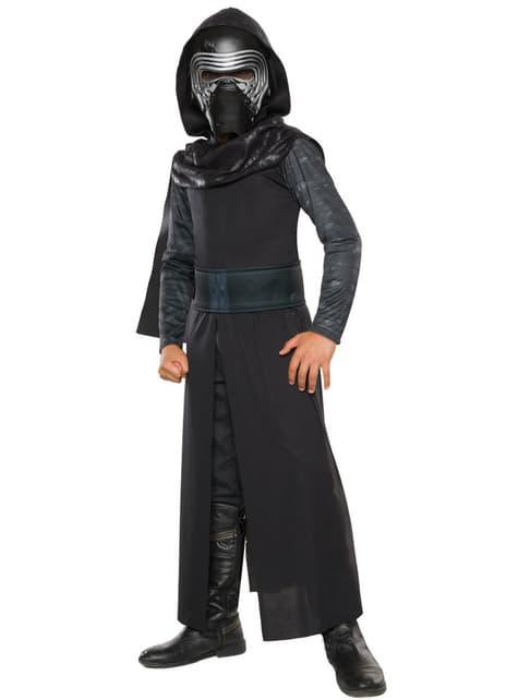 Disfraz de Kylo Ren Star Wars Episodio 7 classic para niño
