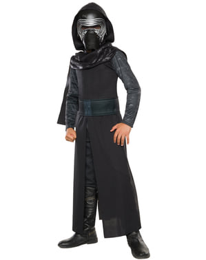 Star Wars: The Force Awakens Kylo Ren Classic Maskeraddräkt Barn