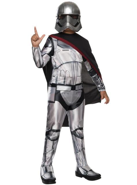 Girls Captain Phasma Star Wars The Force Awakens Costume