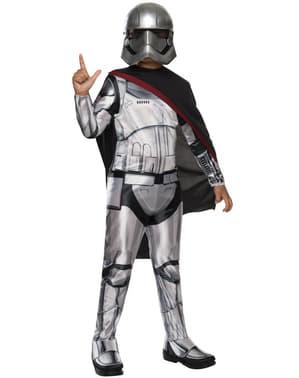 Costume da Capitan Phasma Star Wars Episodio 7 da bambina