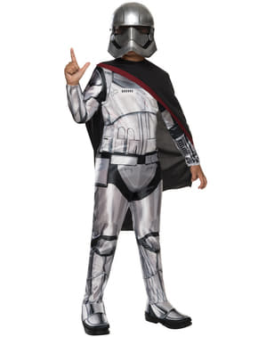 Star Wars: The Force Awakens Captain Phasma Maskeraddräkt Barn
