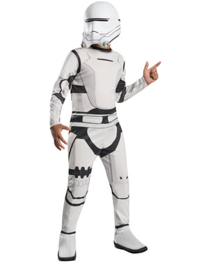 Fato de Flametrooper Star Wars Episódio VII para menino