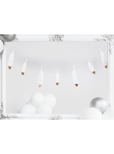 10 palloncini extra resistenti bianchi (30 cm)