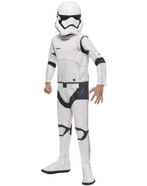 Costum Stormtrooper Star Wars Episodul 7 classic pentru băiat
