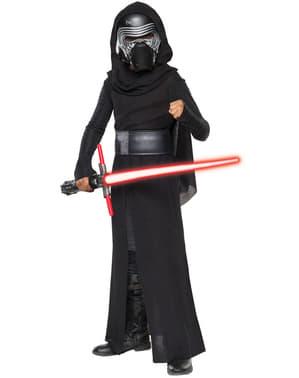 Хлопчики Kylo Ren Зоряні війни Сила Пробуджує Престижний костюм