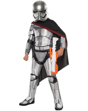 Star Wars: The Force Awakens Captain Phasma Deluxe Maskeraddräkt Barn