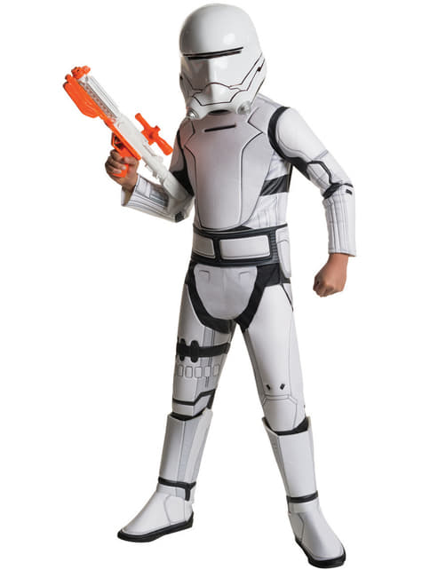 Disfraz de Flametrooper Star Wars Episodio 7 deluxe para niño