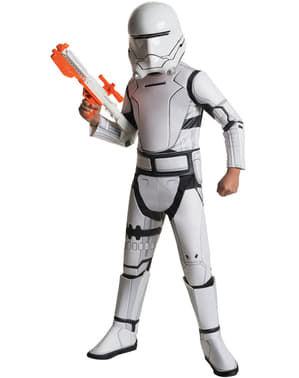 Boys Flametrooper Star Wars The Force Awakens Deluxe Costume