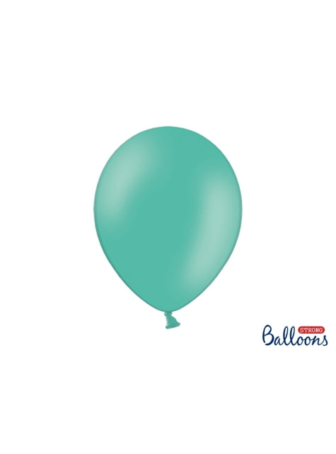 10 palloncini extra resistenti acquamarina (30 cm)