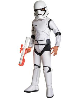 Costume da Stormtrooper Star Wars Episodio 7 deluxe da bambino