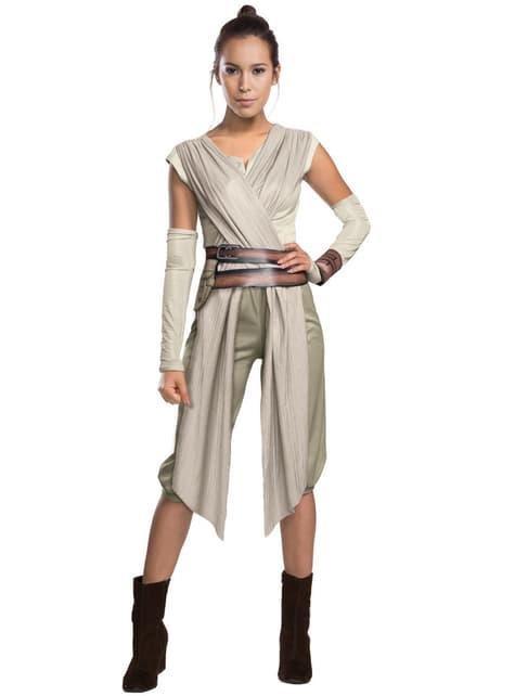 Fato de Rey Star Wars para mulher