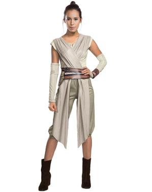 Star Wars: The Force Awakens Rey Maskeraddräkt Dam