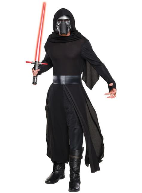 Disfraz de Kylo Ren Star Wars Episodio 7 deluxe para hombre