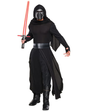 Mens Kylo Ren Star Wars The Force Awakens Deluxe Costume