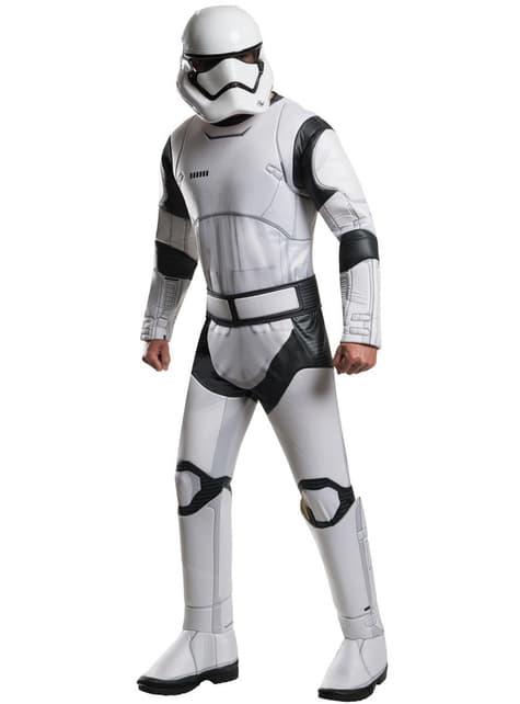 Disfraz de Stormtrooper Star Wars Episodio 7 deluxe para hombre