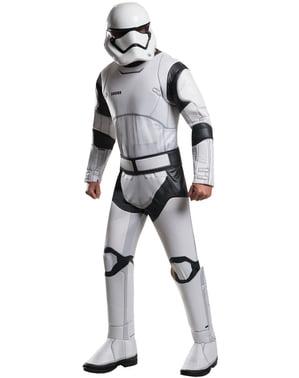 Costum Stormtrooper Star Wars Episodul 7 deluxe pentru bărbat