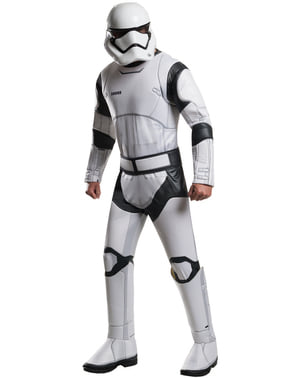 Mens Stormtrooper Star Wars The Force Awakens Deluxe Costume