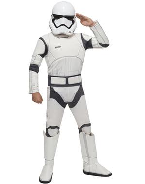 Costum Stormtrooper Star Wars Episodul 7 pentru băiat