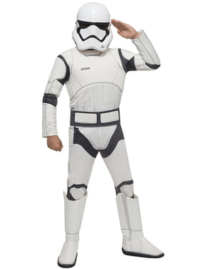 Star Wars: The Force Awakens Stormtrooper Maskeraddräkt Barn