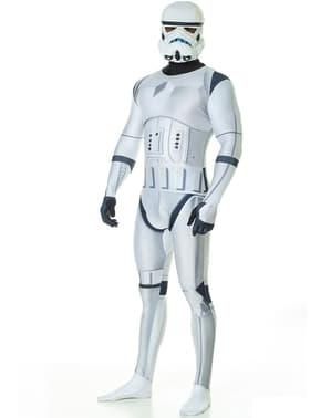 Morphsuit Stormtrooper deluxe kostume