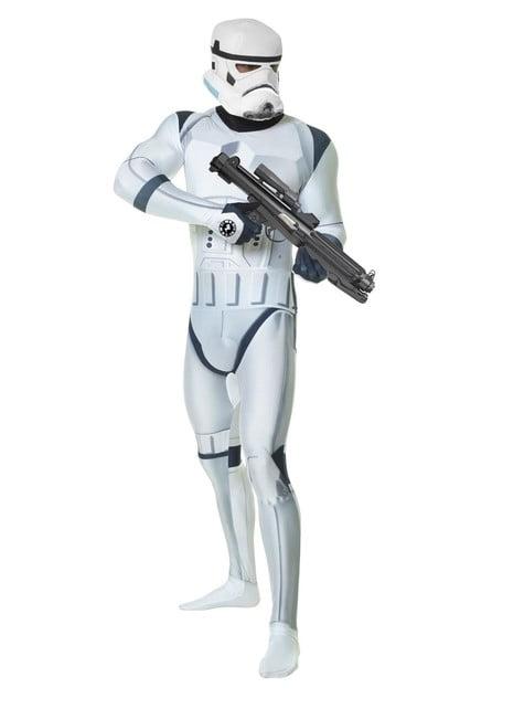 Disfraz de Stormtrooper Deluxe Morphsuit - adulto