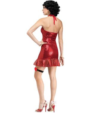 Fato de Betty Boop para mulher