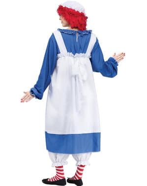 Costume da Raggedy Ann da donna