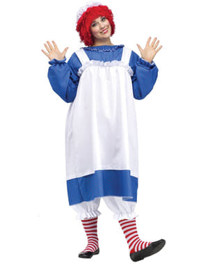 Disfraz de Raggedy Ann para mujer talla grande