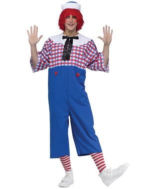 Costume da Andy di pezza da uomo