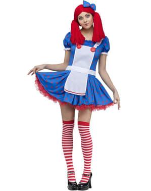 Dámský kostým sexy Raggedy Ann