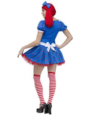 Sexet Ragedy Ann kostume til kvinder