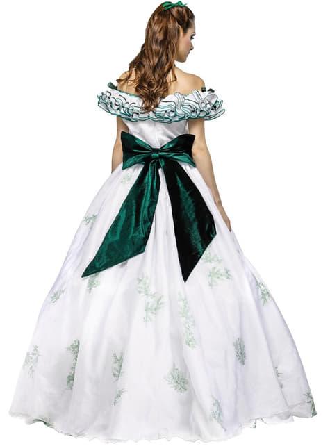 Fato de princesa Scarlett elegante para mulher
