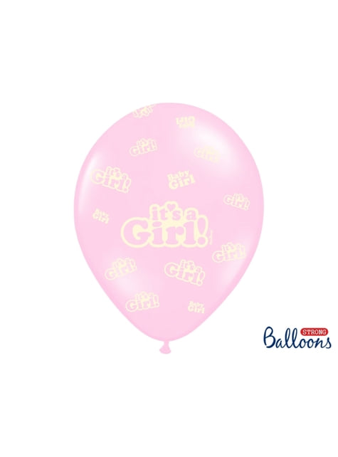 6 latexových balonků