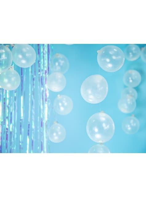 100 ballons extra résistants 12 cm transparent